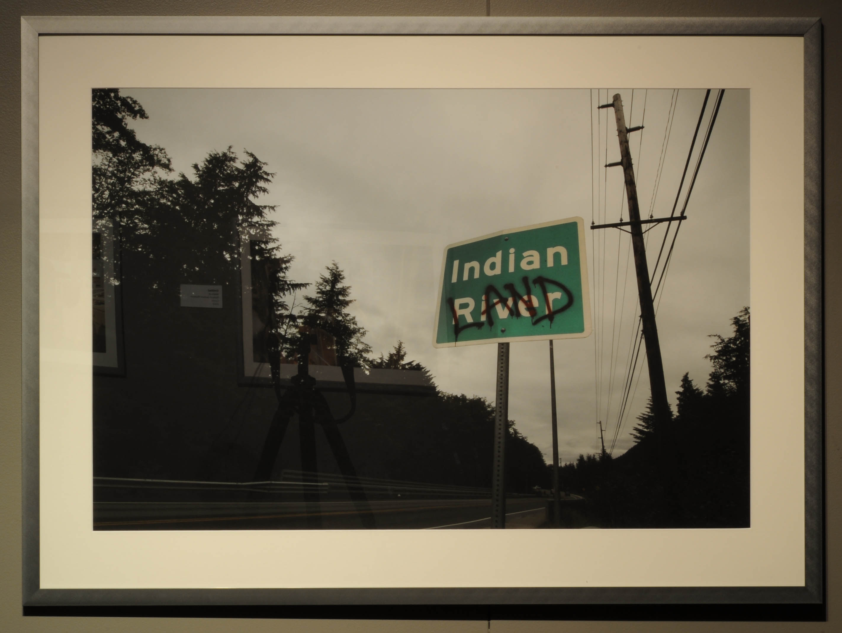 Indian Land road sign