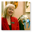 Mary Irvine, Museum Protection and Visitor Services Supervisor